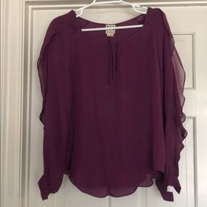 Haute hippie silk blouse size m